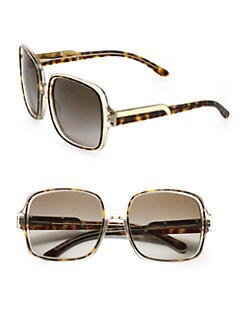 Stella McCartney - Oversized Square Plastic Sunglasses