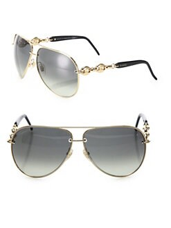 Gucci - Modern Metal Aviator Sunglasses