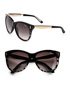 Jimmy Choo - Plastic & Metal Cat's-Eye Sunglasses