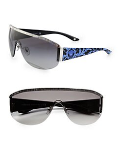 Versace - Metal Shield Sunglasses