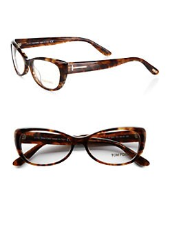 Tom Ford Eyewear - Small Cat's-Eye Plastic Eyeglasses