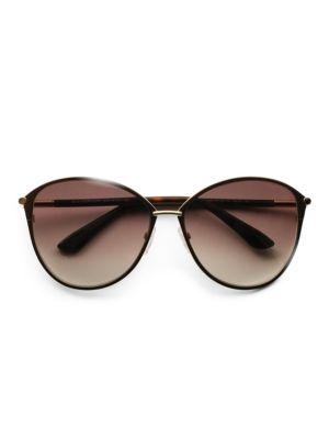 TOM FORD | Penelope Metal Cat Eye Sunglasses | Goxip
