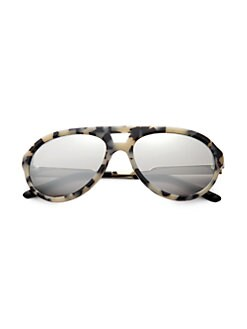 Stella McCartney - Metal & Plastic Aviator Sunglasses