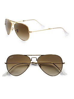 Ray-Ban - Metal Folding Aviator Sunglasses