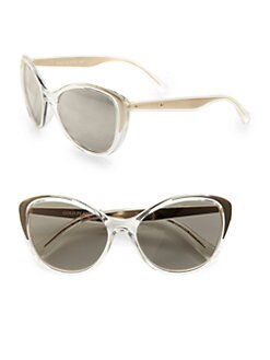 Dolce & Gabbana - 18k Gold-Plated Cat's-Eye Sunglasses