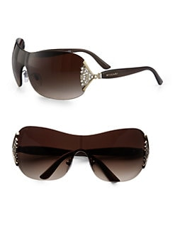 BVLGARI - Crystal Shield Sunglasses