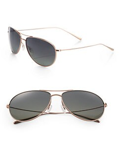 Oliver Peoples - Tavener 61mm Titanium Sunglasses