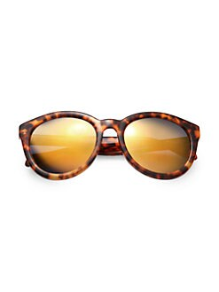 Alexander McQueen - Retro Plastic Sunglasses
