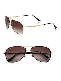 Ray-Ban - Rimless Aviator Sunglasses