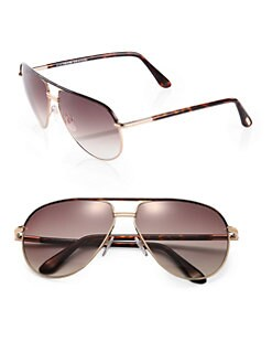 Tom Ford Eyewear - Cole Aviator Sunglasses