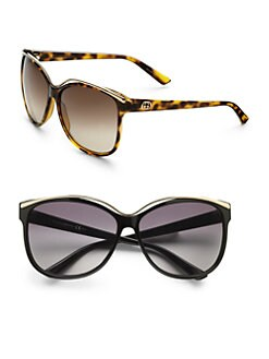 Gucci - Metal Trim Sunglasses