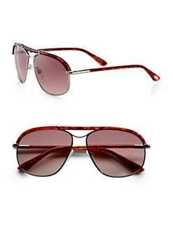 Tom Ford Eyewear - Russell Navigator Oversized Sunglasses
