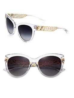 Dolce & Gabbana - Filigree Cat's-Eye Sunglasses