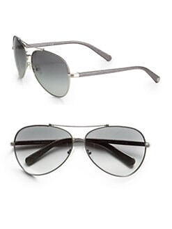 Tory Burch - C Aviator Sunglasses