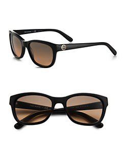 Tory Burch - Square Plastic Sunglasses