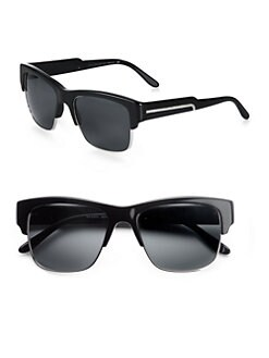 Stella McCartney - Oversized Square Sunglasses/Black