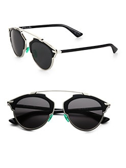 Dior - So Real 55mm Pantos Sunglasses