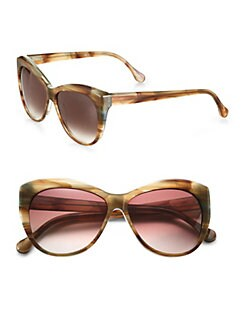 Elizabeth and James - Crescent Beveled Cat's-Eye Oversized Sunglasses