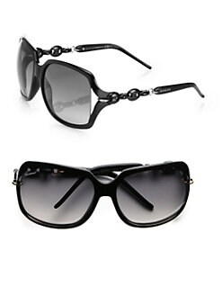 Gucci - Square Marina Chain Sunglasses