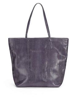 Carlos Falchi - Python Medium Shopping Tote