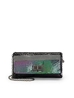 BCBGMAXAZRIA - Mesh Crossbody Clutch