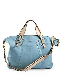 orYANY - Maxine Satchel/Light Blue