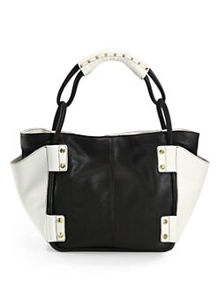 orYANY - Dara Colorblock Tote/Black