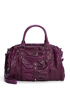 Junior Drake - Bessy Convertible Leather Satchel