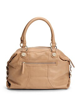 Junior Drake - Leather Top Handle Satchel