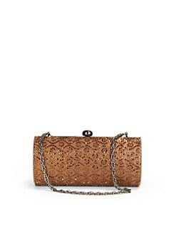 Inge Christopher - Beaded Wallpaper Frame Clutch