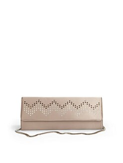 Inge Christopher - Jean Zigzag Silk Clutch