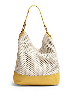 Linea Pelle - Dylan Colorblock Shoulder Bag