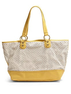 Linea Pelle - Dylan Colorblock Tote