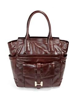 Halston Heritage - Large Leather Tote
