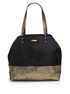 Rebecca Minkoff - Toki East/West Nylon & Suede Tote