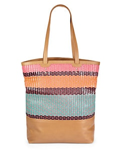 Rebecca Minkoff - Toki Woven Leather Tote