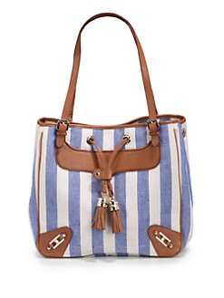 Rebecca Minkoff - Canvas Bucket Bag