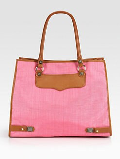 Rebecca Minkoff - Diamond Nylon & Leather Tote