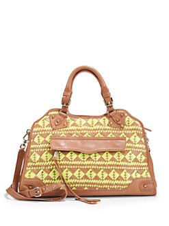 Rebecca Minkoff - Desire Woven Leather Tote