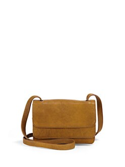 Stuart Weitzman - Layered Bison Leather Crossbody Bag