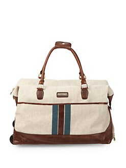 Isabella Fiore - South Hampton Wheeled Duffel Bag