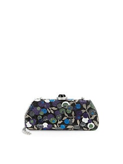 Judith Leiber - New Long Kiss Crystal Clutch