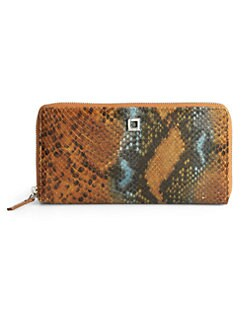 LODIS - Snake Charmer Iris Zip Around Wallet