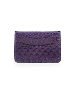 Adriana Castro - Python Card Holder/Purple