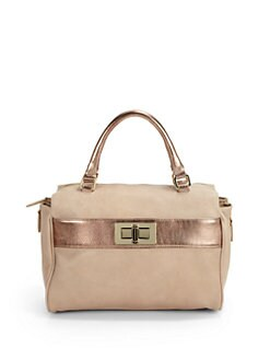 Be & D - Sasha Top Handle Bag/Ivory