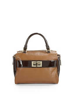 Be & D - Sasha Top Handle Bag/Espresso