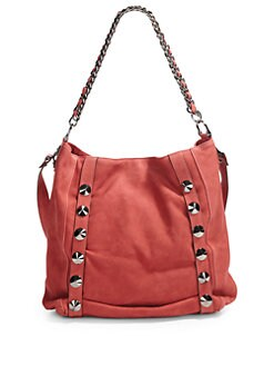 Be & D - Donnington Lambskin Shoulder Bag/Red