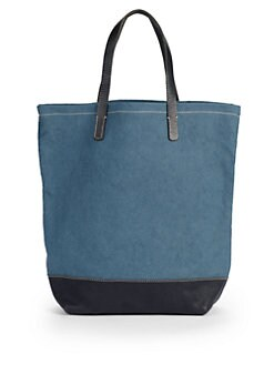 Massimo Palomba - Dexter Canvas Tote/Blue