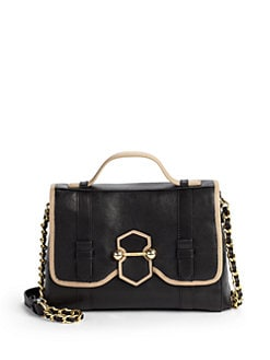 Botkier - Lucy Colorblock Satchel/Black