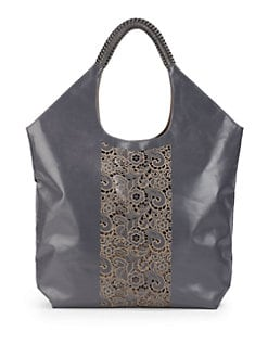 nada sawaya - Dea Laser Cut Leather Tote